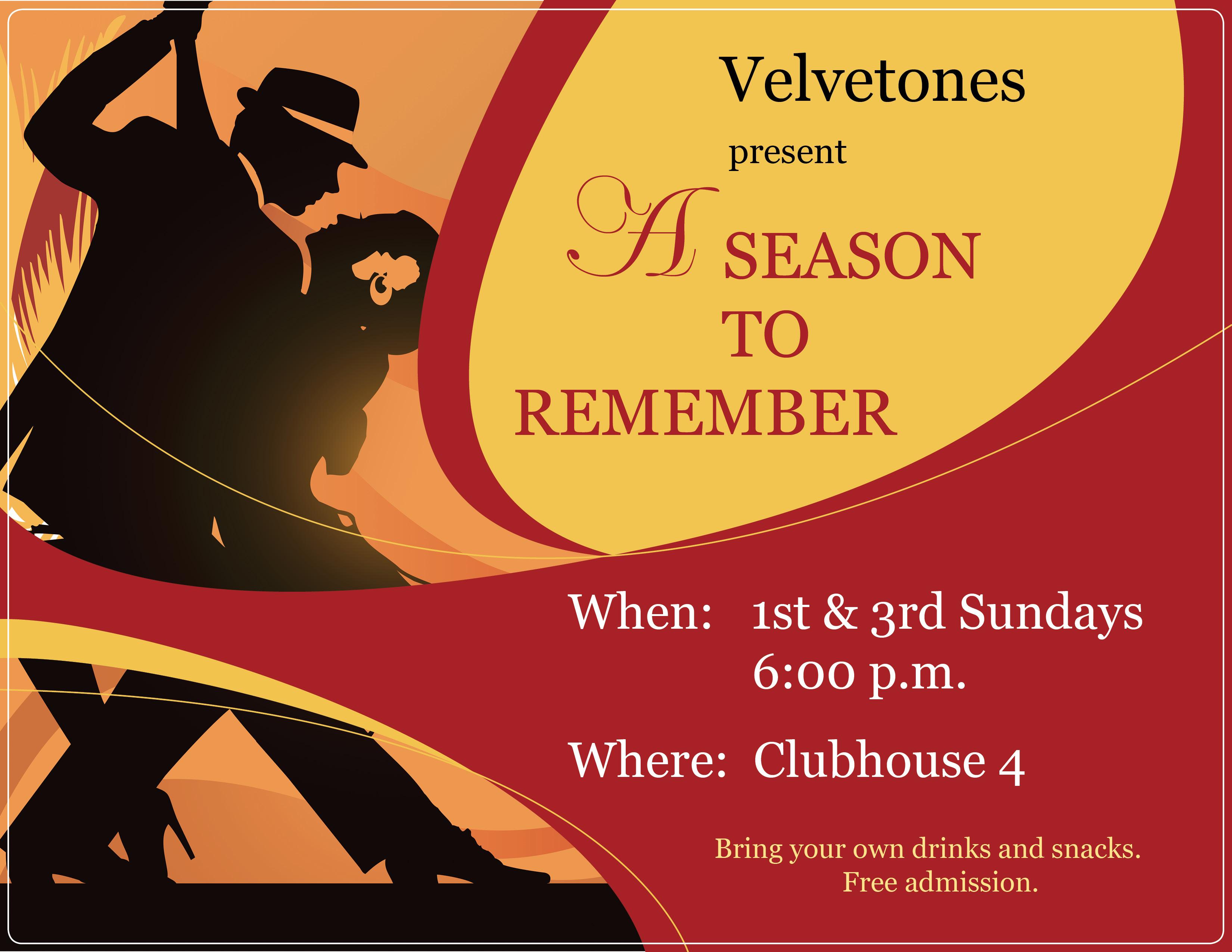 Velvetones flyer