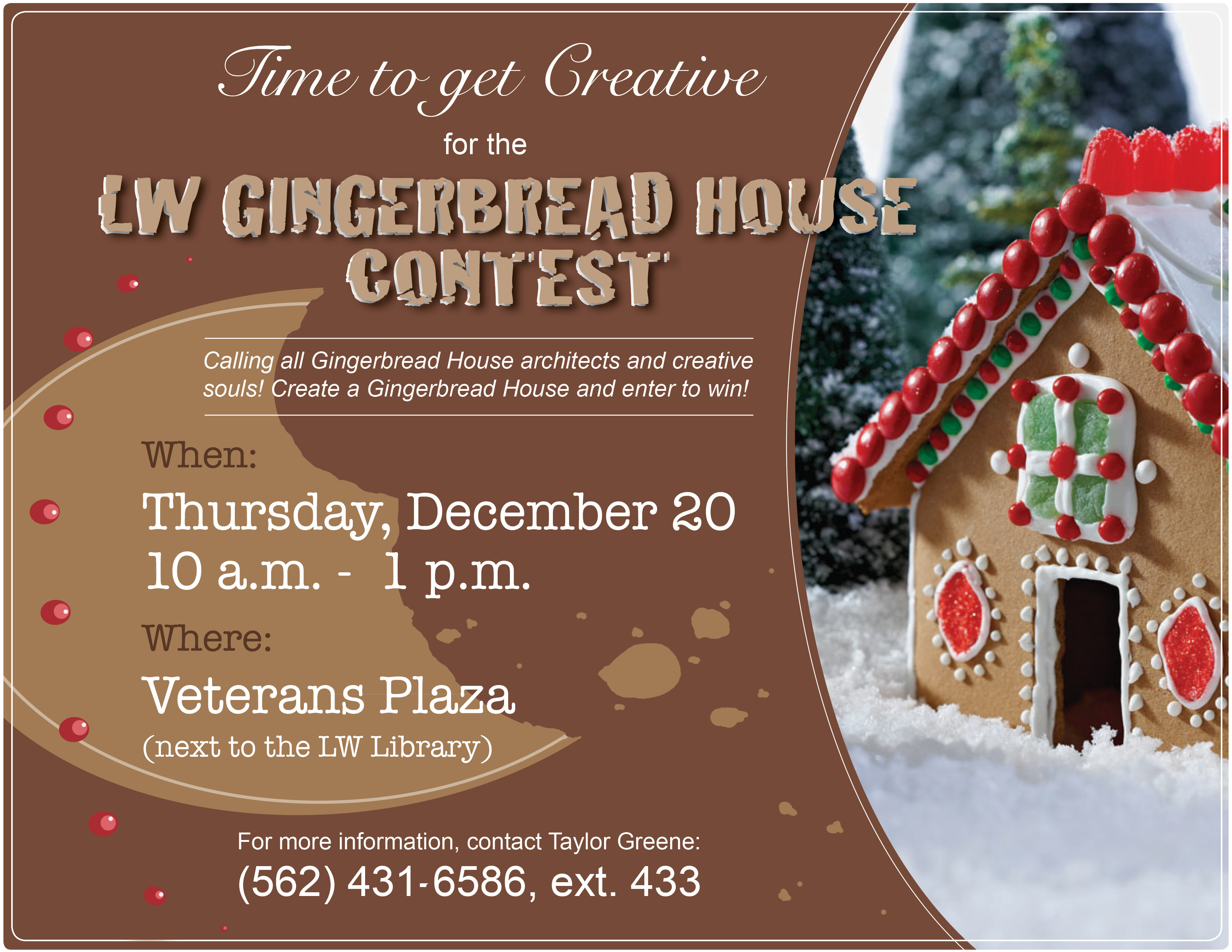 Gingerbread contest 12-20-18