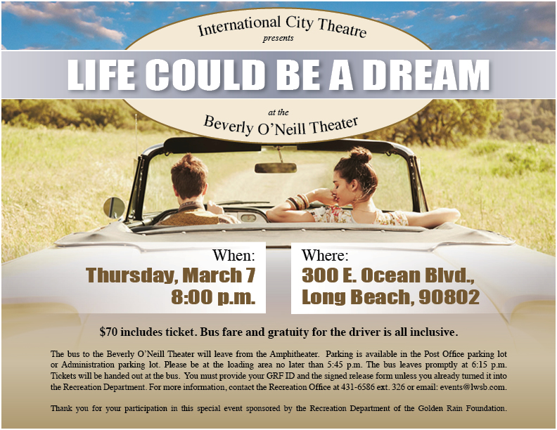 Dream life March 7