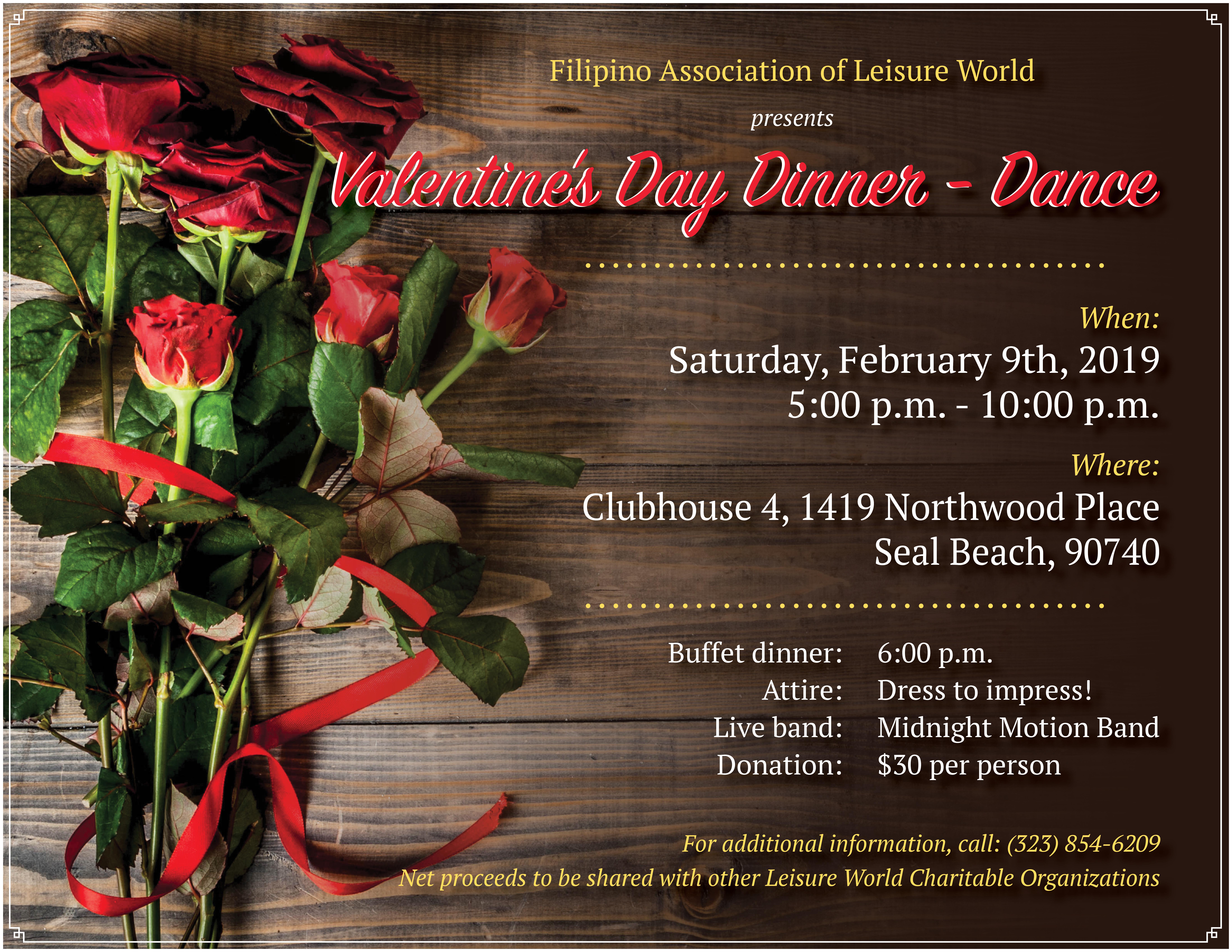 V-Day flyer