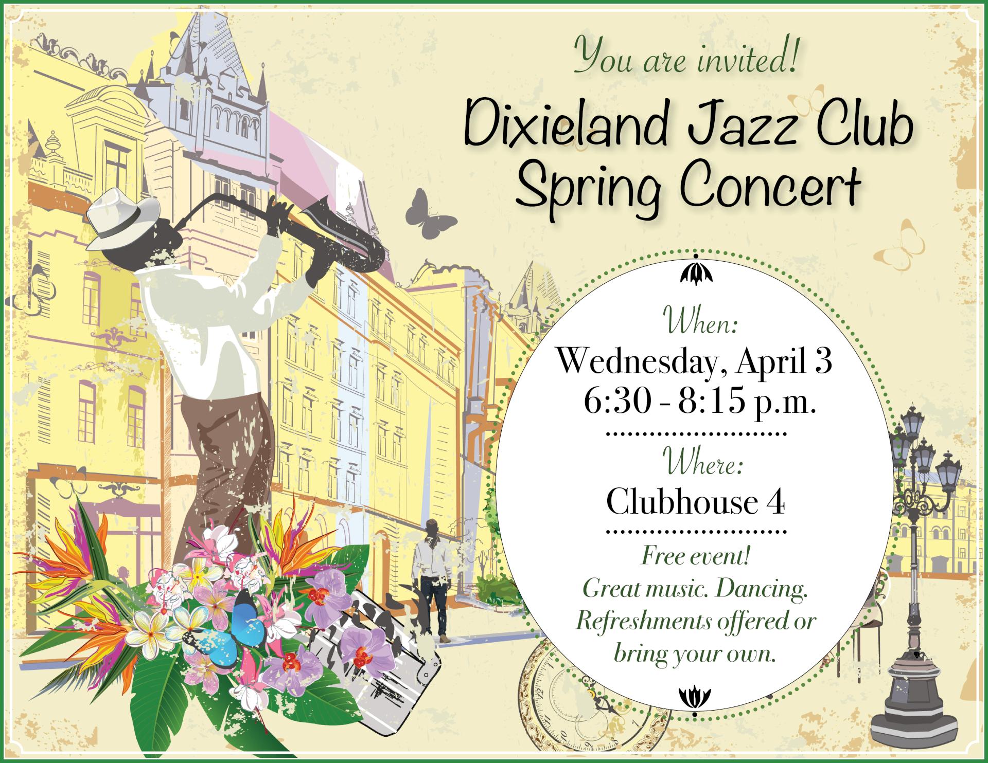 Dixieland flyer April 3