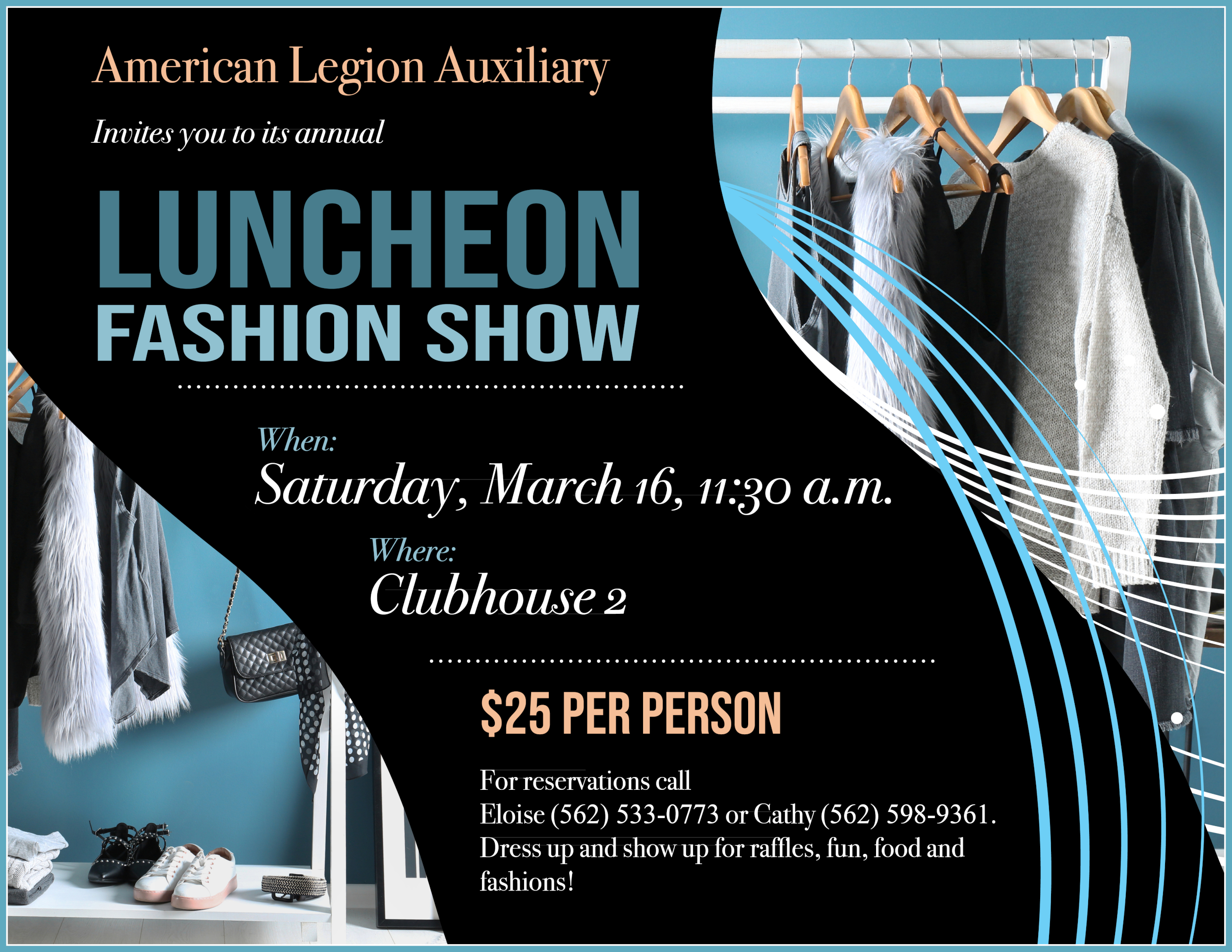 Fashion show March 16