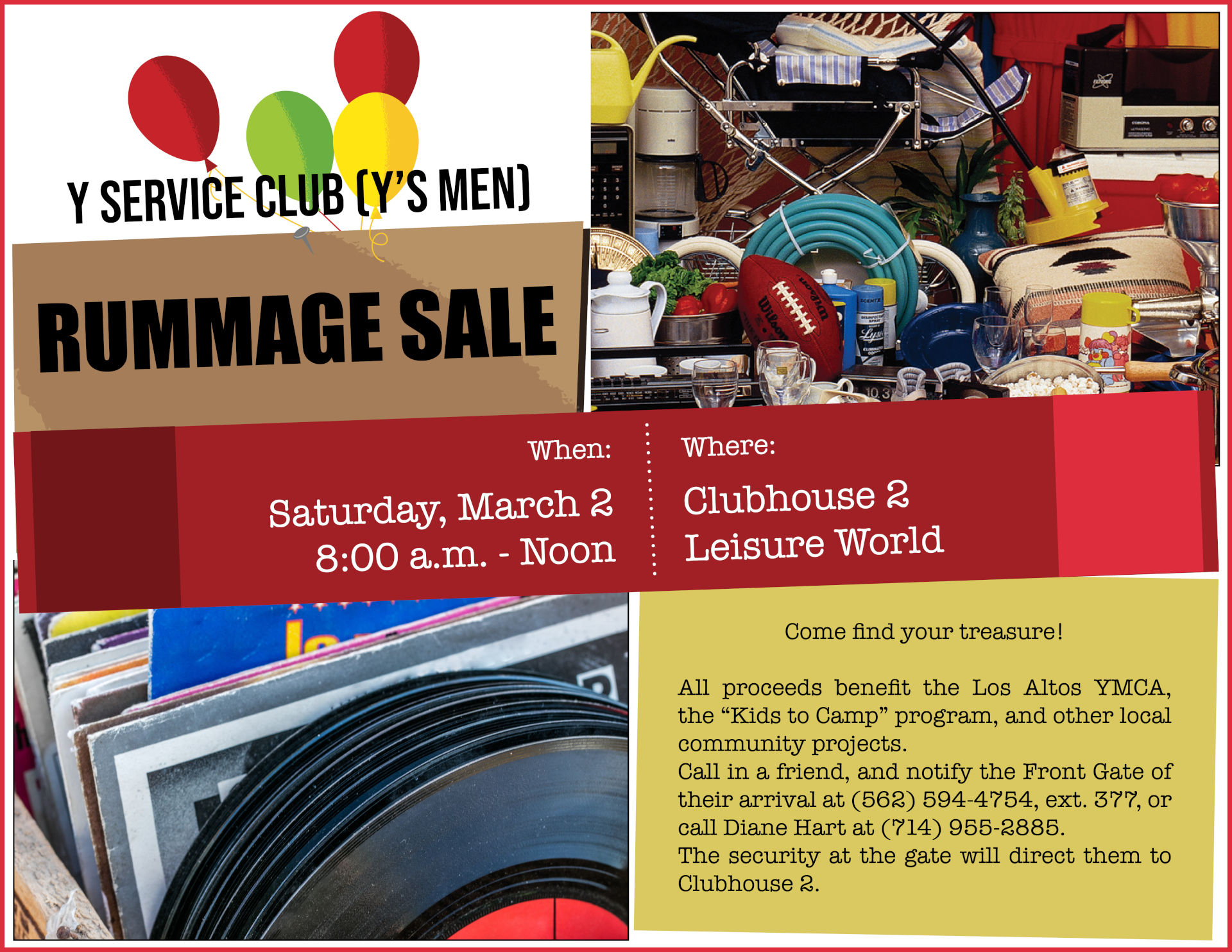 Rummage sale flyer March 2 resize