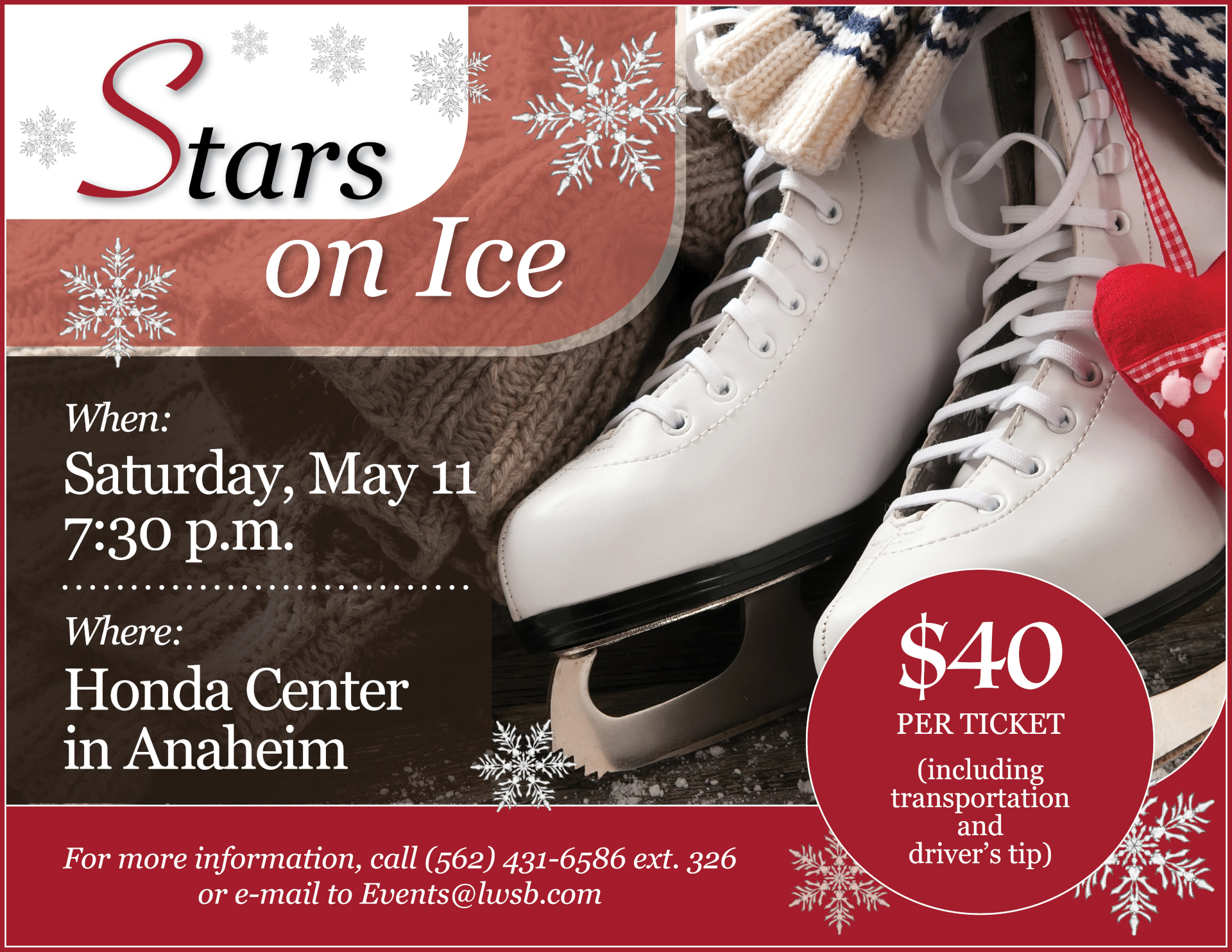 Stars on Ice flyer 05-11