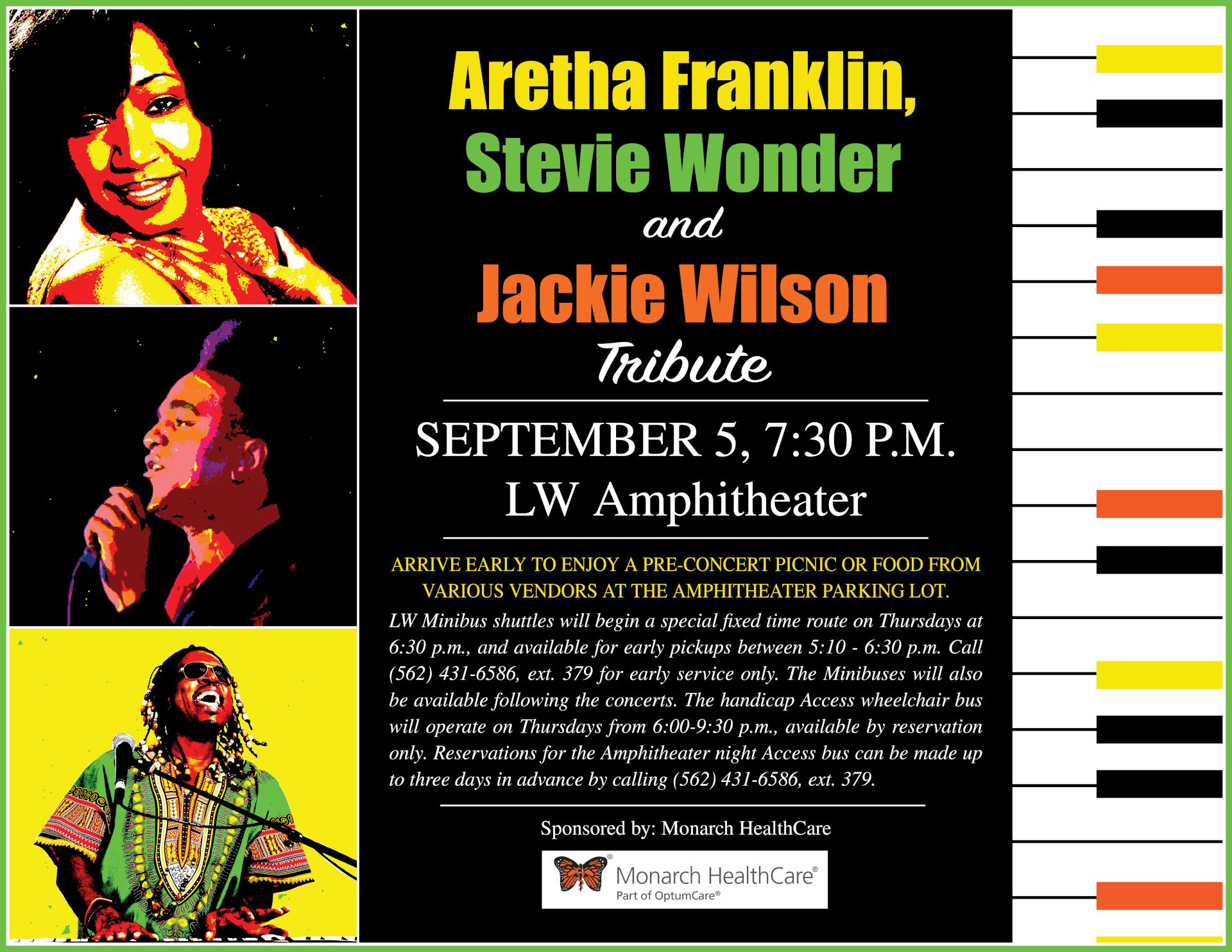 Aretha Franklin flyer 09-05