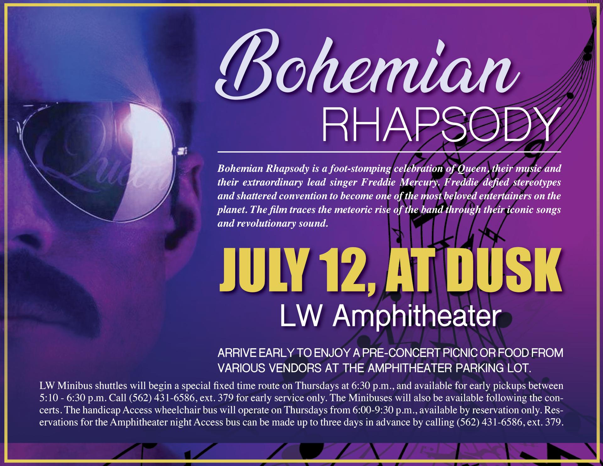 Bohemian rhapsody 07-12