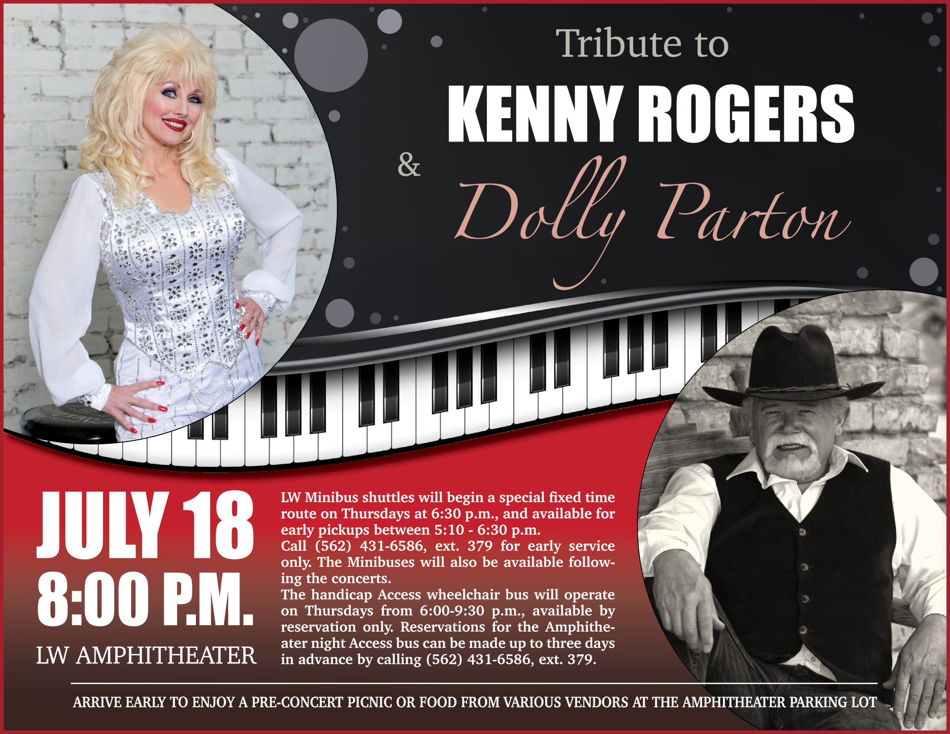 Kenny & Dolly tribute 07-18